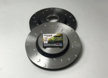 Genuine Ford C Grooved Front Discs